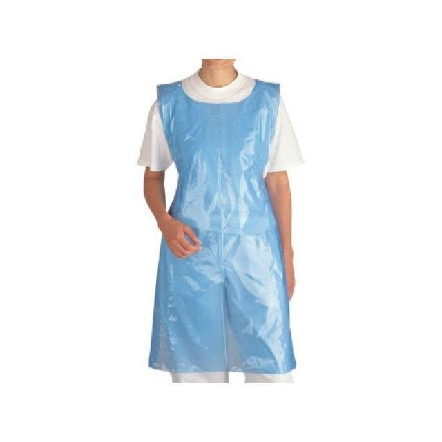 Poly Aprons On a Roll - Blue (pk 200 x 5)