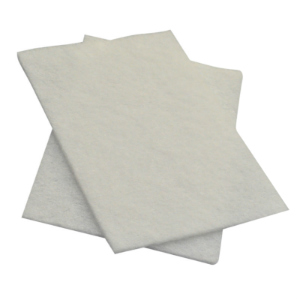 White Non Scratch Scouring Pads (pk 10)