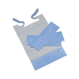 Disposable Bibs - Blue (pk 600)