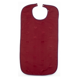 Dignified Adult Clothing Protector - Burgundy