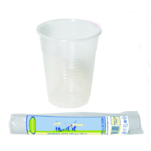 White Plastic Disposable Cups 200ml/7oz (pk 2000)