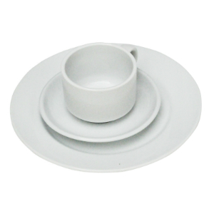 Bayleaf 7oz White Stacking Cup (pk 24) [CC200] (fits saucer CC202)