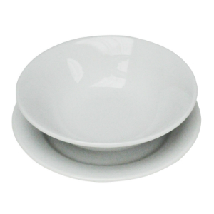 Bayleaf White 6.25in Side Plate (pk 12) [CC206]