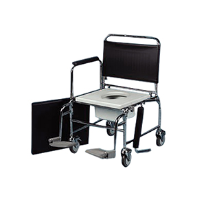 Extra-Wide Mobile Commode - 22in (84522)