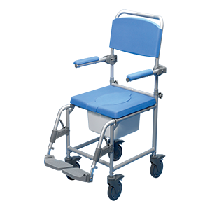 Deluxe Shower Commode Chair - 18in