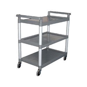 3 Tier Polyprop Large Clearing Trolley  [CF102]
