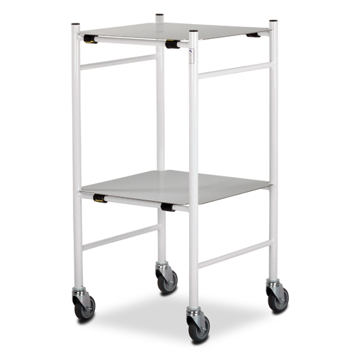 Dressing Trolley 450x450mm S/S Shelves