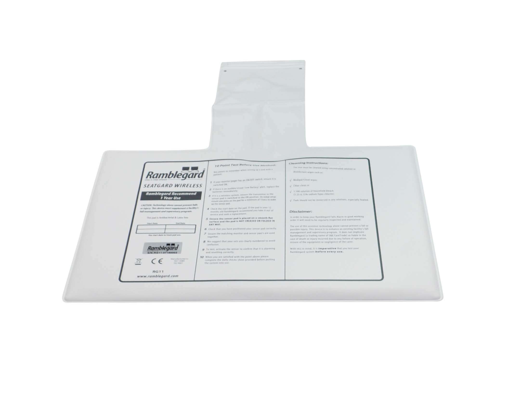 Wireless Seatgard Mat Only (RG49)
