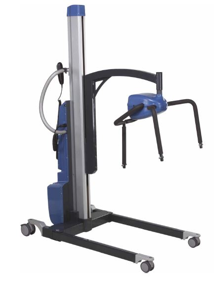 Horcher Lexa Pro Hoist with Electric Spreader Bar with Clipped Fixing & Electric Legs, SWL 275kg
