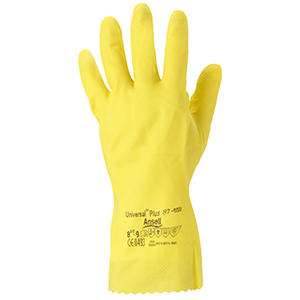 Ansell Universal Rubber Gloves - Small (pk 12)