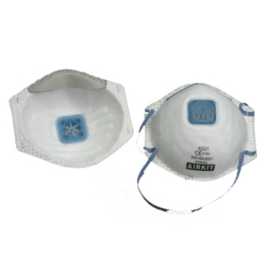 AIRKIT Comfort P2 Valved Disposable Respirator (pk 10)