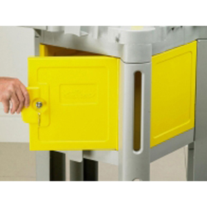 Structocart Cleaners Cart with Lockable Box