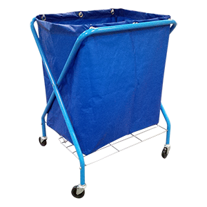 X Frame Laundry Cart
