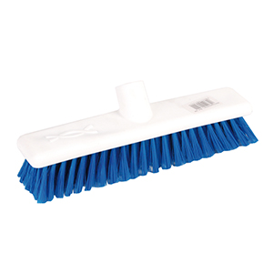 Hygiene Soft Broom Head 11in - Blue