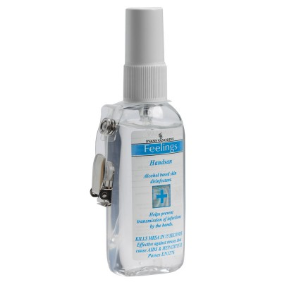 EVANS Handsan - Hand Sanitiser with Moisturiser 12x75ml