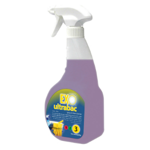EXO ultrabac - Spray & Wipe 6 x 750ml