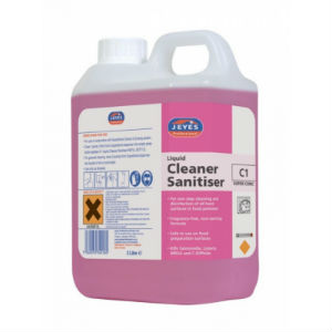 Jeyes C1 Liquid Cleaner 2x2L Sanitiser - Con