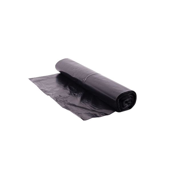 Saturn Black Waste Sacks On a Roll - 26x44in (pk 200) (BRH 20C)