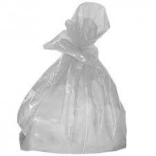 Small Clear Waste Sacks - 16x24in (pk 500)