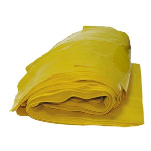 Yellow Clinical Waste Sacks (Non UN) 16x25x39 (pk 200)