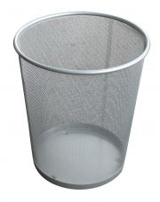 Metal Decorative Waste Bin